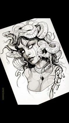 Lion Tattoo Sleeves, Sleeve Tattoos, Forarm Tattoos, Body Art Tattoos, Tattoo Sketches, Tattoo Drawings, Medusa Tattoo Design, Egyptian Tattoo Sleeve, Girl Face Tattoo