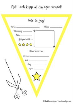 vimpel, vimplar, klassrummet, pyssel, elevpyssel, social kompetens, gratis lektioner, lektion, lektionsmaterial, skola, fritids, pyssel, skolpyssel Easy Science, Science Experiments, Brain Teasers For Kids, Funny Riddles, Role Play Areas, Playing Doctor, Learning Numbers, Too Cool For School, Business For Kids