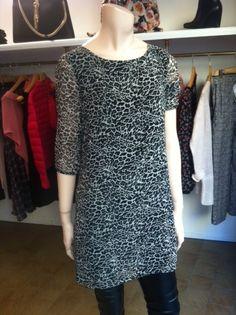 vestito leopardato