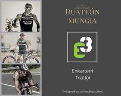 Diseño presentación de prueba de Mungia para Enkarterri Triatloi