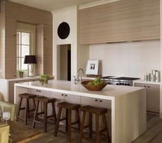 Contemporary Belgian kitchen style... love the photo