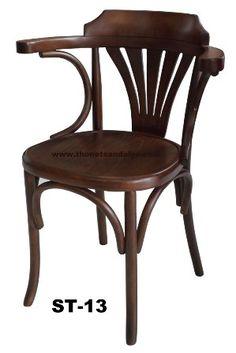 ST-13 Tonet Kolçaklı Sandalye - Güncel Sandalye Fiyatları - İmalattan Toptan Sandalye Fiyatları Sofa Chair, Sofa Furniture, Antique Furniture, Painted Furniture, Armchair, Club Chairs, Dining Chairs, Bent Wood, Coffee Shop Design