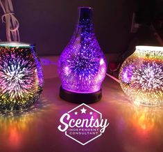 The exhilirating Stargaze & Nova! Stargaze available in diffuser & wax warmer! Look like fireworks in real life! Shop stunning warmers here! Scentsy Essential Oils, Scentsy Oils, Scentsy Diffuser, Scentsy Uk, Scentsy Australia, Scented Wax Warmer, Wax Warmers, Nova, Fireworks
