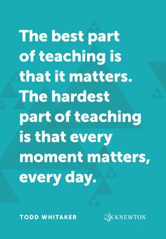 Image result for teaching matters everyday