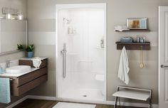 ALLIA SHR-4834 Alcove Showers - MAAX Professional