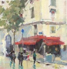 I want this! Nancy Franke - Busy Corner, Paris