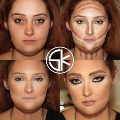 Le maquillage fait vraiment des miracles… La preuve avec ces photos avant/après. Choquant !