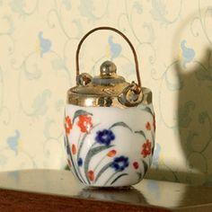 Floral Biscuit Barrel