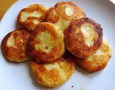 "Russian Farmers Cheese Pancakes also called ""syrniki"""