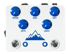 JHS Pedals Alpine Reverb Guitar Effects Pedal