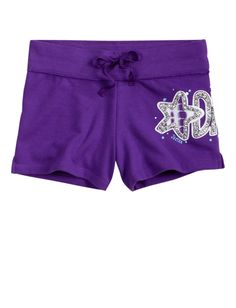 Girls Clothing | Active | Graphic Tie Dye Knit Shorts | Shop Justice