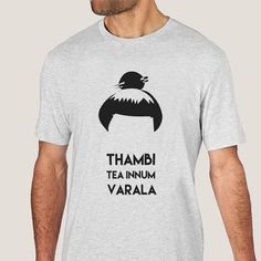 Body Soda's epic dialogue – Thambi Tea Innum Varala. Part of our collection of Kollywood T Shirts. Jokers, Stencil, Soda, Shirt Designs, Typography, Tees, Mens Tops, T Shirt, Clothes