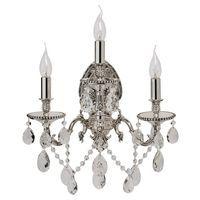 Applique Crystal Noir et Chromé 3x60W Boutica-Design