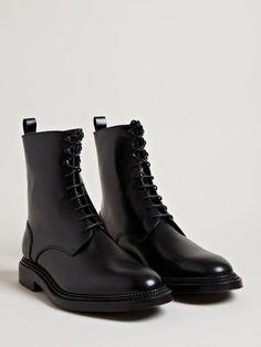 Yang Li Men's Lace Up Boots.