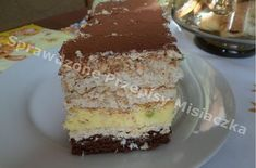 Sernik Magda Siostry Anastazji Vanilla Cake, Tiramisu, Ale, Cheesecake, Pudding, Baking, Ethnic Recipes, Sweet Dreams, Polish