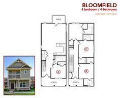 4 bedroom, 4 bath Bloomfield