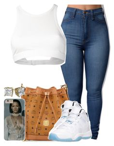"""""""Everyone In The Illest Walking Make A Set For The New Contest"""" by luhariiee ❤ liked on Polyvore featuring T By Alexander Wang, MCM, Retrò and AriIdeas"""