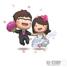 Happy forever #hjstory #love #wedding #cute #marriage