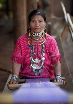 Woman from Kor Yor tribe, Thailand