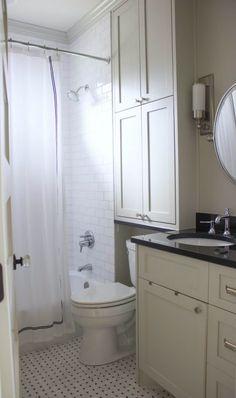 Pretty bathroom storage cabinets over toilet exclusive on homesable home decor Bathroom Grey, Bathroom Linen Cabinet, Diy Bathroom, Bathroom Storage Shelves, Bathroom Renos, Bathroom Layout, Bathroom Towels, Modern Bathroom, Bathroom Ideas