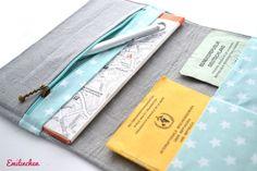 Taschenorganizer - Reiseetui, Stars - ein Designerstück von Anja-Emilinchen bei DaWanda