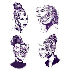 Картинки по запросу westworld tattoo