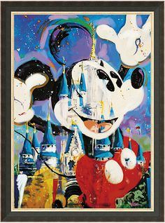Mickey & castle picture