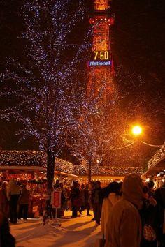 Christmas Market, Sapporo, Japan