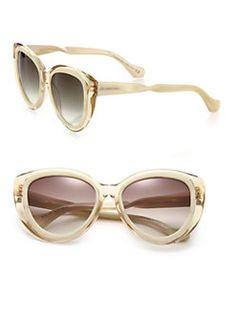 Balenciaga - Twisted Arm 58MM Modified Cat's-Eye Sunglasses