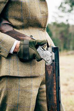 Tucker - A participant's bespoke shotgun at Chris Batha's...