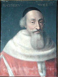 Messire Mathieu Molé, Comte Molé de Champlâtreux (1584-1656). Magistrat, Premier Président du Parlement de Paris, Garde des Sceaux de France.