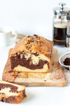Marmer Cake, Cake Recept, Tiramisu, Cravings, Cupcakes, Lunch, Snacks, Vegan, Cookies