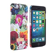 Amazon.com: Official TED BAKER® SS16 iPhone 6 Plus / 6S Plus Case – Hard Shell Back Case / Cover in Flower Design for Women, Protective Snap on Back Case for Apple iPhone 6S Plus and iPhone 6 Plus - Floral Swirl: Cell Phones & Accessories