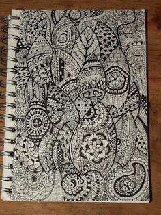 Zentangles/doodles nr 7