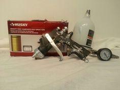 Husky Gravity Feed Composite HVLP Spray Gun Model H4850GHVSG #Husky