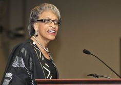 Dr. Johnetta Cole (b. October 19, 1936) was the first Black woman to serve as president of Spelman College, leading the institution from 1987 to 1997.  From 2002 to 2007, she was president of Bennett College in Greensboro, NC. Prior to her work as a university president, she taught at a number of schools, including the University of Massachusetts-Amherst, Hunter College, and Emory University. Today, Dr. Cole serves as the director of the Smithsonian Institute's National African Art Museum.