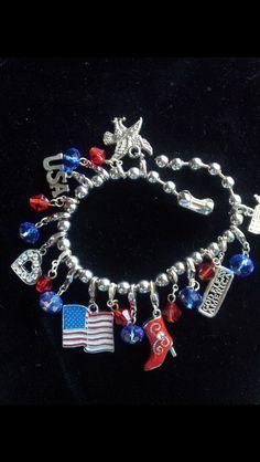Juju Fourth of July bracelet