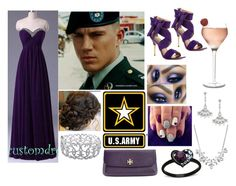 """""""Military Ball (U.S. Army)"""" by marinesister-181 ❤ liked on Polyvore featuring Camilla Skovgaard, Adriana Orsini, Givenchy, Ice and Tory Burch"""