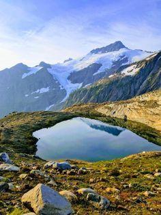 Glacier Peak Wilderness [OC] (3024 x 4032) - MountAdams