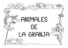 ANIMALES DE LA GRANJA Spanish Teacher, Farm Theme, Language Arts, Kindergarten, Projects To Try, Teaching, Education, Crafts, Animals