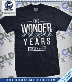 """The Wonder Years """"Mountain Range"""" Shirt"""
