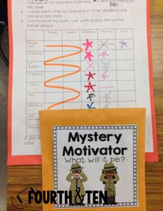 Mystery Motivators for Motivating Difficult Students to Make Better Choices