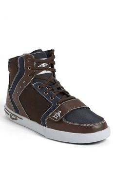 Love the Original Penguin 'Moby' High Top Sneaker on Wantering.