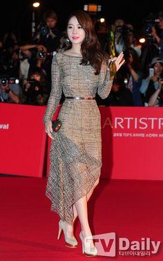 18th Busan International Film Festival Red Carpet Actresses · Yoo In-na