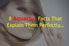8 Aquarius Facts That Explain Them Perfectly… – Zodiac True
