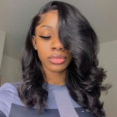 Nails sew in hairstyles no leave out body wave, permed hairs. Nails sew in hairstyles no leave out body wave, permed hairstyles short body wave, body wave perm Bob Hairstyles For Fine Hair, Medium Bob Hairstyles, My Hairstyle, Loose Hairstyles, Hairstyle Ideas, Wedding Hairstyles, Formal Hairstyles, Body Wave Hairstyles, Ponytail Hairstyles