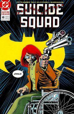 Suicide Squad #49 (Jan '91) cover by Norm Breyfogle. #comics #BarbaraGordon…