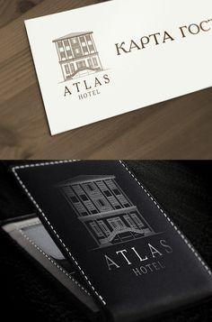 Создание логотипа отеля «Атлас»