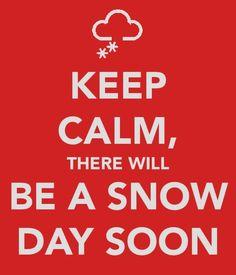 Snow Day Soon