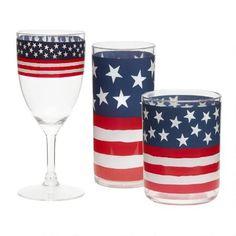 USA Acrylic Barware Collection